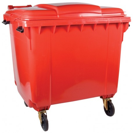 1100l Plastic Wheelie Bin 4 Wheels The Feed Bins