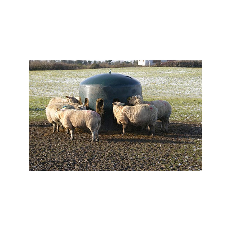 Sheep Haybell Feeder The Feed Bins Amp Storage Company