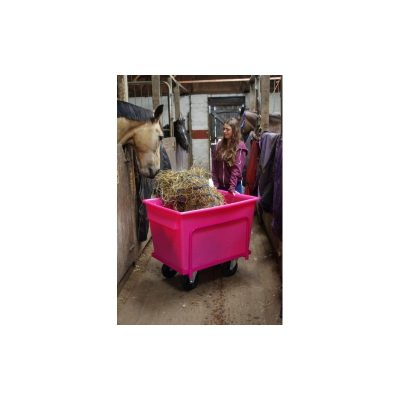 Portable Feed Storage Bins : Portable hay soaker optional lid no the feed bins