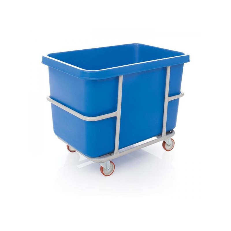 304L Rectangular Tank with Mobile Frame - No Lid - The Feed Bins & Storage  Company