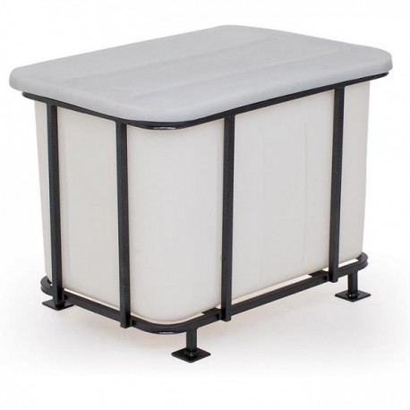 468L Rectangular Tank with Optional Frames - No Lid - The Feed Bins &  Storage Company