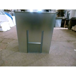 Coal Bunker 150kg Capacity Ready Assembled
