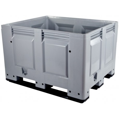 Solid Plastic Pallet Box No Lid The Feed Bins